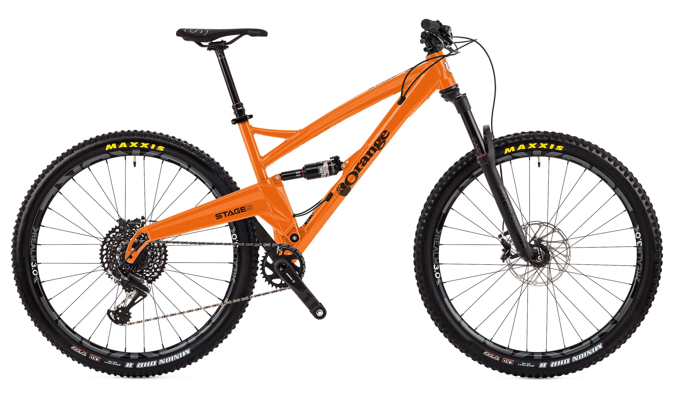 DB-D. Orange STAGE 5 (Large) 29er 2018