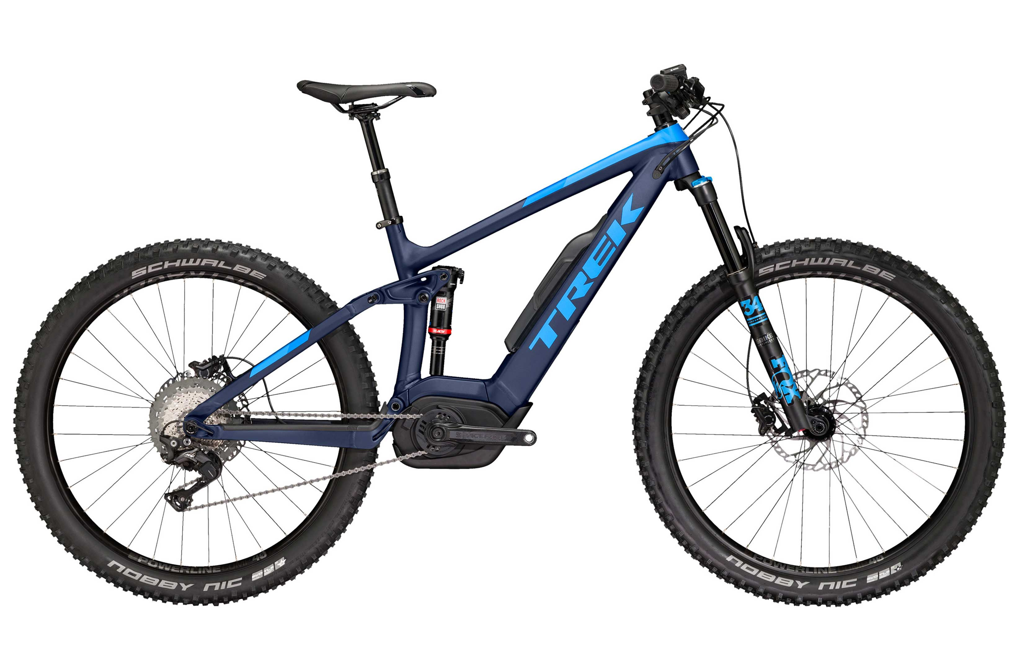 Electric Full Suspension - Trek Powerfly LT8 Large